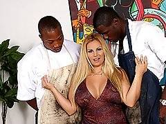 interracial mom fucking movies - HOT Big Tits Cougar MILF Interracial Threesomexxx