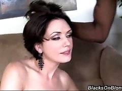 interracial mom fucking movies - Horny sluty milf always wanted to have threesome with two tough black guys and now she gets her chance.