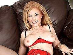 Cougar Nina Hartley Fucks & Sucks Off Young Blackxxx