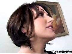 interracial mom fucking movies - This divorce attorney knows that her two clients have no money to pay her. She offers them a deal. Double deal.